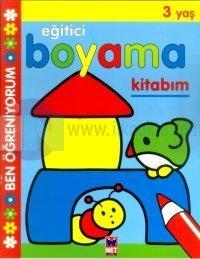 Eğitici Boyama Kitabım 3 Yaş
