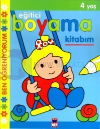 Eğitici Boyama Kitabım 4 Yaş