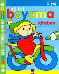 Eğitici Boyama Kitabım 5 Yaş