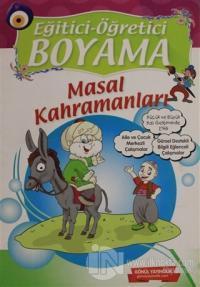 Eğitici Öğretici Boyama - Masal Kahramanları