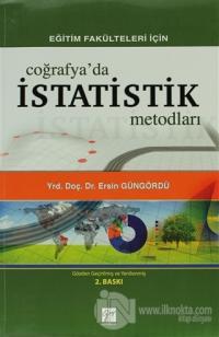 Eğitim Fakülteleri İçin Coğrafya'da İstatistik Metodları
