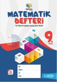 Eğitimiz Yayınları 9. Sınıf Matematik Defteri - 2