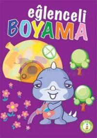 Eğlenceli Boyama Seti (10 Kitap Takım)