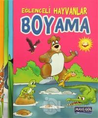 Eğlenceli Hayvanlar Boyama (4 kitap)