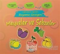 Eğlendiren Öğreten Boyama Gezegeni: Meyveler ve Sebzeler