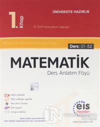 EİS YKS DAF Matematik 1. Kitap Ders Anlatım Föyü