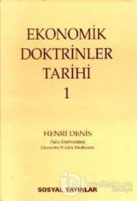 Ekonomik Doktrinler Tarihi (2 Cilt Takım) %25 indirimli Henri Denis