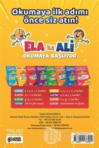 Ela ile Ali Okumaya Başlıyor ( 8 Kitap Set )
