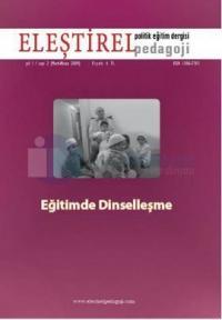 Eleştirel Pedagoji Dergisi Sayı: 2