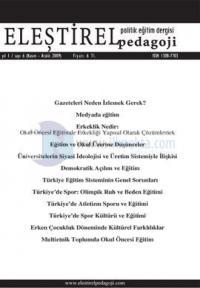 Eleştirel Pedagoji Dergisi Sayı: 6