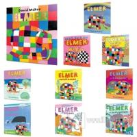Elmer'ın Renkli Dünyası 10'lu Set (2+Yaş)