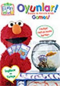 Elmo - Oyunlar - Boyama ve Aktivite Kitabı (Hafıza Oyunu Kartları Hediyeli)