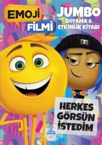 Emoji Filmi Jumbo Boyama ve Etkinlik Kitabı