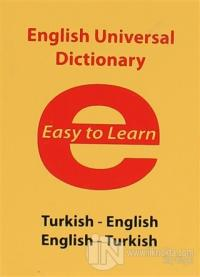 English Universal Dictionary - Easy to Learn (Ciltli)