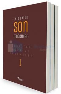 Enis Batur Edebiyat ve Sanat Üzerine Denemeler Seti - 3 Kitap Ciltli