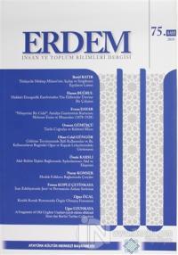 Erdem Atatürk Kültür Merkezi Dergisi Sayı: 75 2018 Kolektif