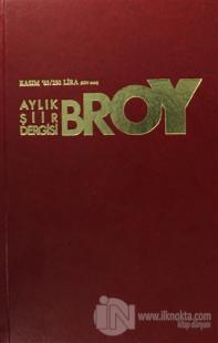 Broy Aylık Şiir Dergisi Kasım 85 (Ciltli)