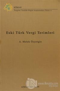 Eski Türk Vergi Terimleri