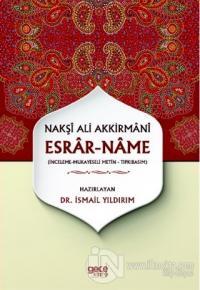 Esrar-Name - Nakşı Ali Akkirmanı