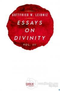 Essays On Divinity Vol. 3