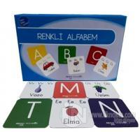 Etkin Zeka Oyunları - Renkli Alfabem