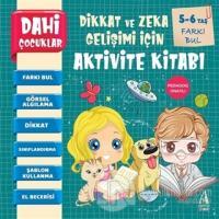 Farkı Bul - Dahi Çocuklar Dikkat ve Zeka Gelişimi İçin Aktivite Kitabı