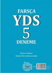 Farsça YDS 5 Deneme