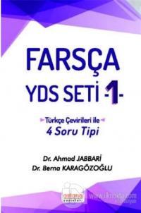 Farsça YDS Seti 1 - Türkçe Çeviri ile 4 Soru Tipi Ahmad Jabbari