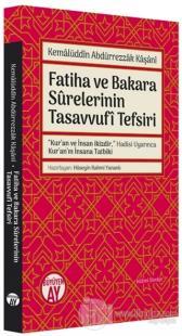 Fatiha ve Bakara Surelerinin Tasavvufi Tefsiri