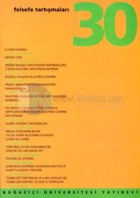 Felsefe Tartışmaları Sayı: 30