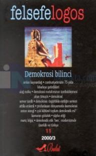 Felsefelogos Sayı 11 - Demokrasi Bilinci