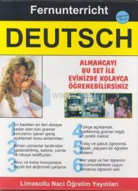 Fernunterrichit Deutsch Almanca Öğrenim Seti Özel Çantası İçinde