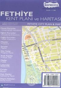 Fethiye Kent Planı ve Haritası Fethiye City Plan & Map