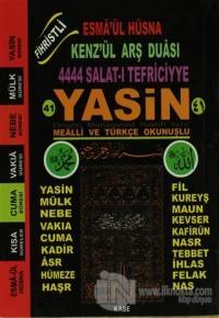 Fihristli 41 Yasin-i Şerif Mealli ve Türkçe Okunuşlu Elmalılı Muhammed