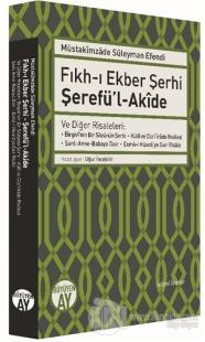 Fıkh-ı Ekber Şerhi Şerefü'l-Akide