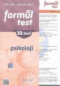 Formül 10. Sınıf Psikoloji Yaprak Testler