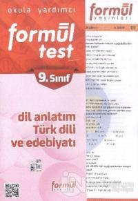 Formül 9. Sınıf Dil Anlatım Türk Dili ve Edebiyatı Yaprak Testler