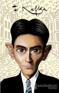 Franz Kafka - Karikatür Yumuşak Kapak Defter