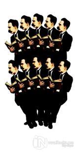 Friedrich Nietzsche - 10'lu Lazer Kesim Ayraç