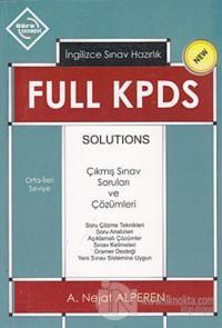 Full KPDS Solutions - İngilizce Sınav Hazırlık