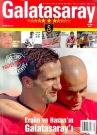 Galatasaray Spor Kulübü Aylık DergisiEylül 2002 Sayı: 3