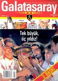 Galatasaray Spor Kulübü Aylık Resmi DergisiHaziran - Temmuz 2002 Sayı: 1