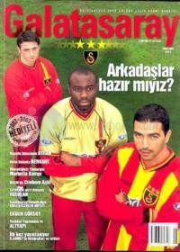 Galatasaray Spor Kulübü Aylık Resmi DergisiŞubat 2003 Sayı: 8
