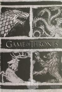 Game of Thrones A5 Sert Kapaklı Not Defteri