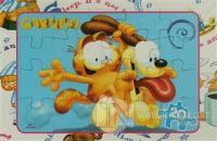 Garfield 4 Kitap Takım Puzzle 20 Parça