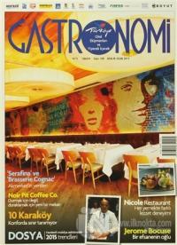 Gastronomi Dergisi Sayı: 109 Aralık- Ocak 2015