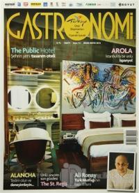 Gastronomi Dergisi Sayı: 111 Nisan-Mayıs 2015