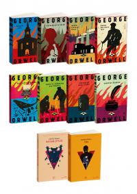 George Orwell 10 Kitap Takım