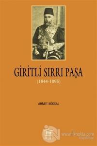 Giritli Sırrı Paşa (1844 - 1895)