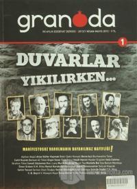 Granada Edebiyat Dergisi Sayı: 1